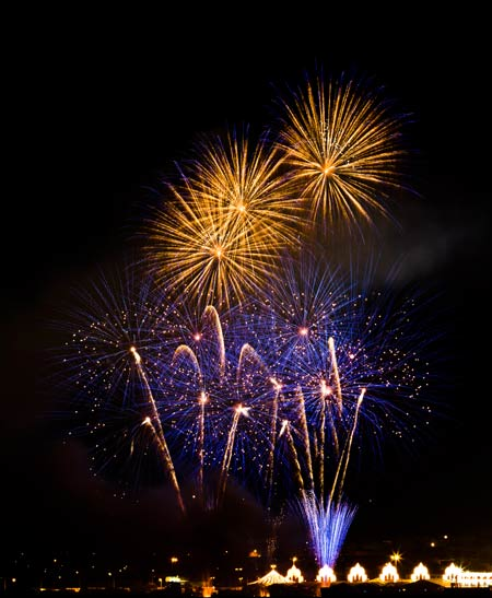 Victoria Fireworks - best time to come to Victoria